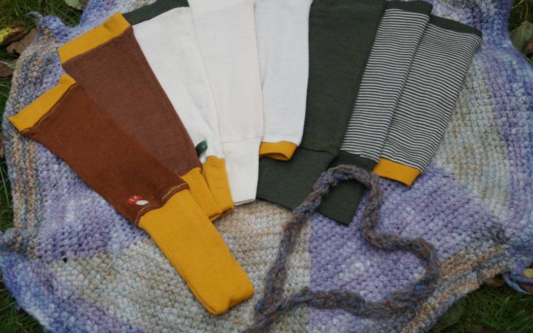 Serie: windelfreie Ausstattungs-Empfehlungen *Babyleggs Stulpen*